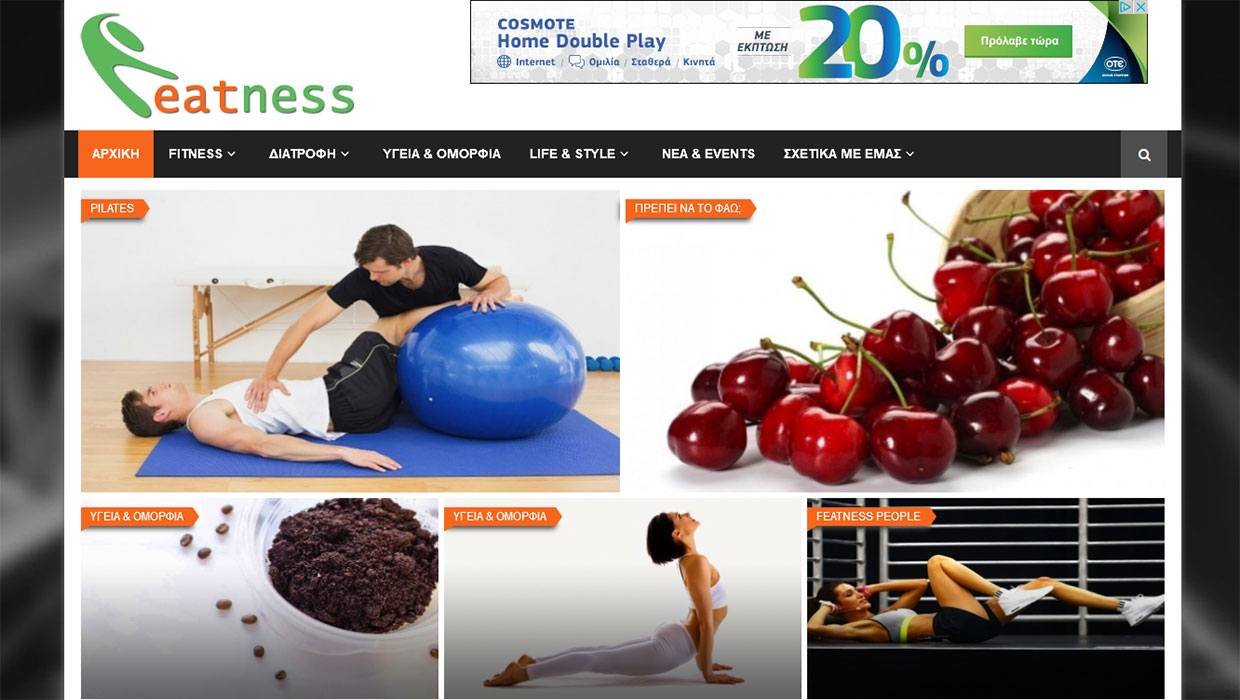 Featness Website Image